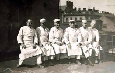 Fazerin mestareita vuodelta 1926.